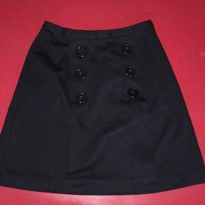 Black Maison Jules from Macy's Skirt